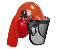 Casque forestier complet